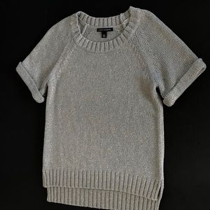 Banana Republic grey/gold sweater